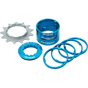 Reverse Single Speed Kit Cassette blue